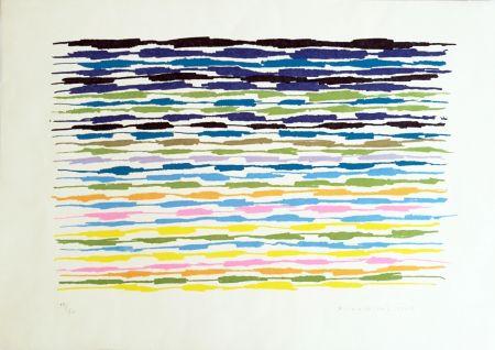 Lithographie Dorazio - Composizione 2