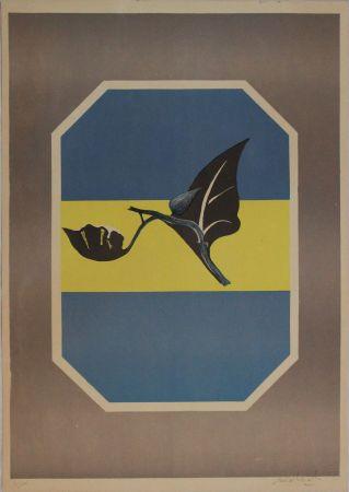 Lithographie Mattioli - Composizione in grigio