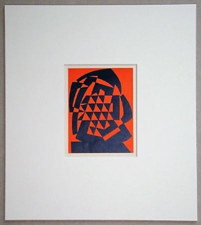 Holzschnitt Reggiani - Composizione non figurativo