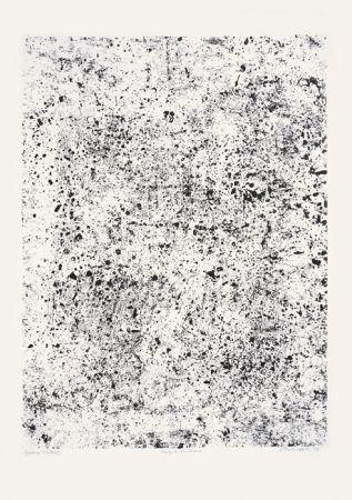 Lithographie Dubuffet - Congrès poudreux (Phénomènes)