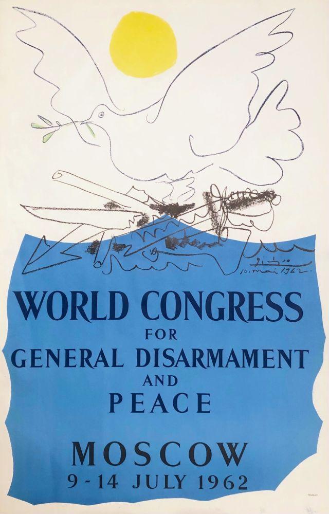 Lithographie Picasso - Congrès pour la Paix