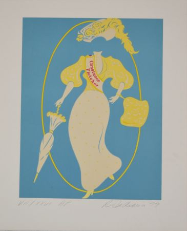 Lithographie Indiana - Constance Fletcher - Mother of us all portfolio
