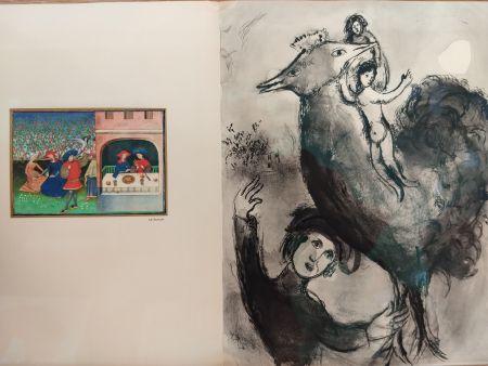 Illustriertes Buch Chagall - Contes de Boccage