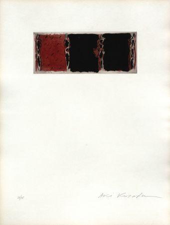 Aquatinta Kuroda - ContiNUITe (rouge)