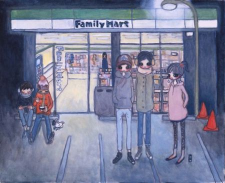 Lithographie Takano - Convenience Store