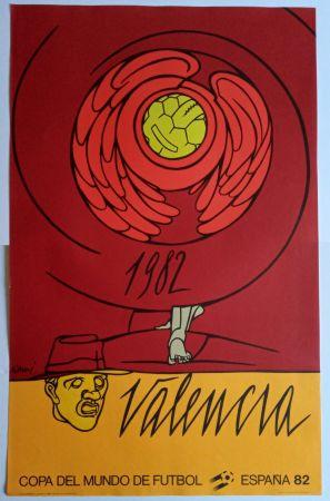 Plakat Adami - Copa del Mundo 1982 - Valencia