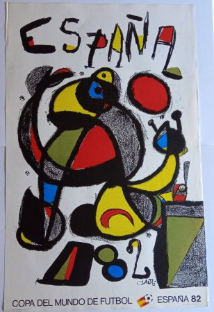 Plakat Miró - Copa del Mundo España 82