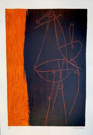 Lithographie Marini - Coposizione, 1955