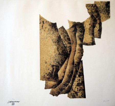 Lithographie Chillida - CORRELACION