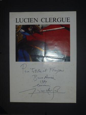 Plakat Clergue - Corrida