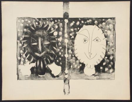 Lithographie Picasso - Couverture Mourlot I (B. 591)