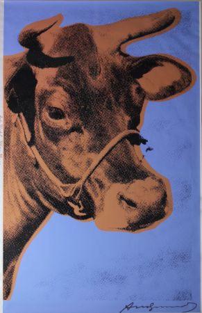 Siebdruck Warhol - Cow (FS II.11A)