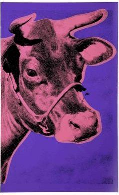 Siebdruck Warhol - Cow II
