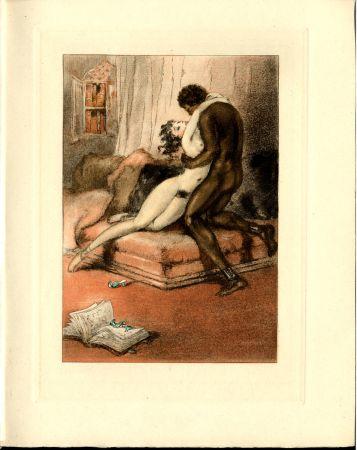 Illustriertes Buch Icart - CRÉBILLON, Fils : LE SOPHA.23 eaux-fortes originales en couleurs de Louis Icart.