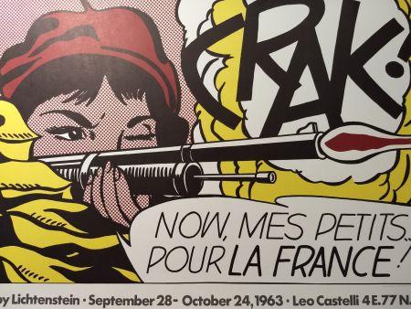 Plakat Lichtenstein - Crak