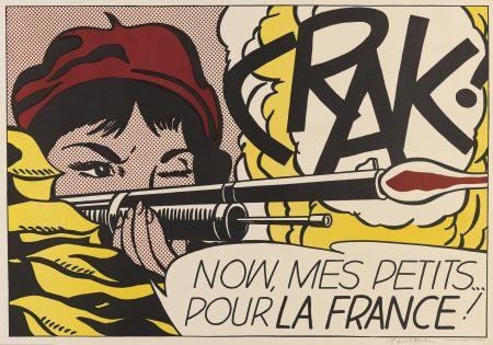 Lithographie Lichtenstein - Crak! (Corlett II.2.)