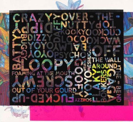 Siebdruck Bochner - Crazy (With Background Noise)