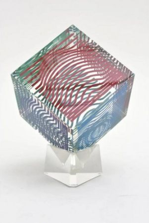 Multiple Vasarely - Cube