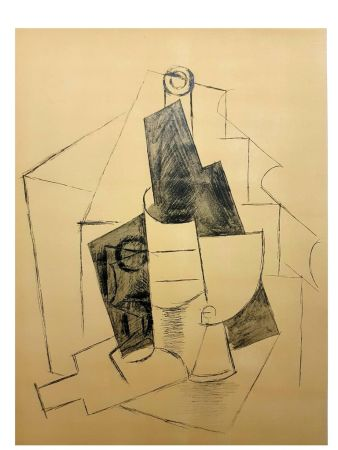 Lithographie Picasso (After) - Cubisme