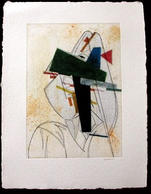 Radierung Valdés - Cubismo como pretexto 11