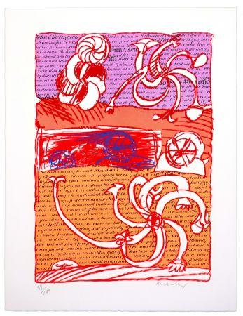 Lithographie Alechinsky - Cursive