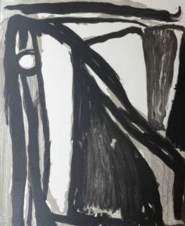 Lithographie Van Velde - Décantement