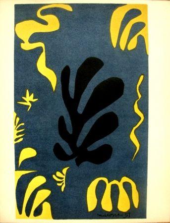 Lithographie Matisse - Découpages Pour Le Xx E  Siecle