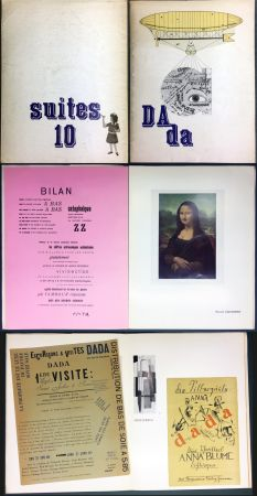 Illustriertes Buch Duchamp - DAda. Suites 10. Catalogue de la Galerie Krugier (1966)