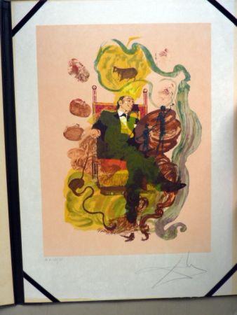 Lithographie Dali - Dali's Dreams