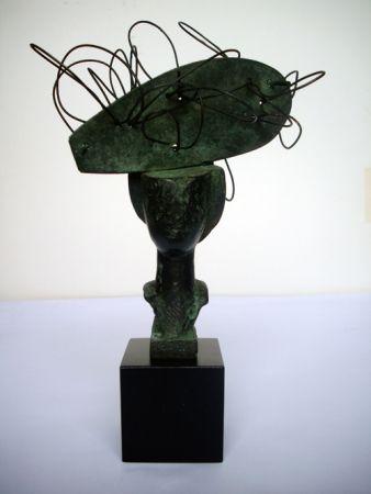 Monotypie Valdés - Dame en bronze