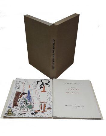 Illustriertes Buch Picasso - Dans l'atelier de Picasso
