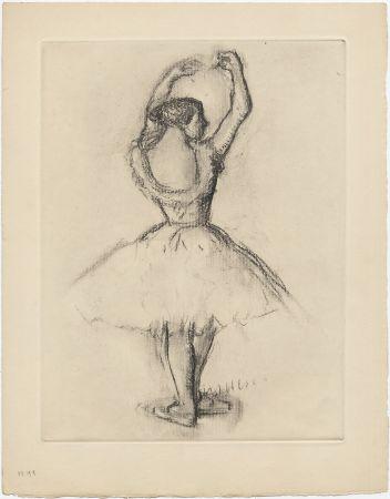 Radierung Degas - Danseuse (étude, vers 1878-1880)