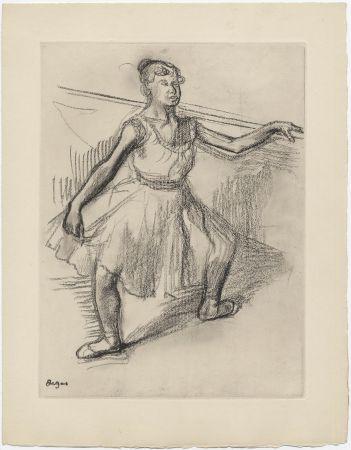 Radierung Degas - Danseuse (étude, vers 1878)