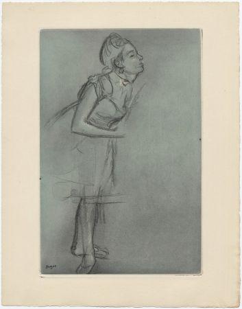 Radierung Und Aquatinta Degas - Danseuse (étude, vers 1878)