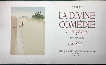Illustriertes Buch Dali - Dante.  LA DIVINE COMÉDIE. L'Enfer. Le Purgatoire. Le Paradis.
