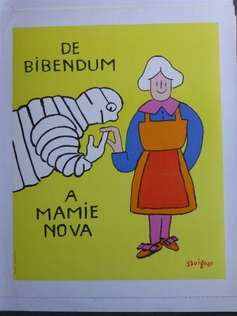 Plakat Savignac - De bibendum à mamy nova