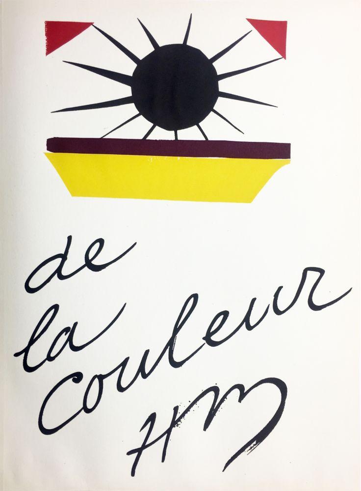 Lithographie Matisse - DE LA COULEUR  (Pour la revue Verve n°13, 1945)