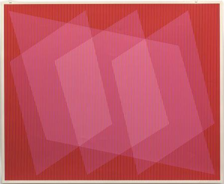 Siebdruck Stanczak - Dedicated, from Twelve Progressions