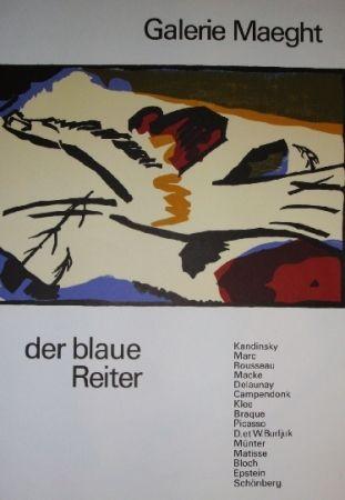 Plakat Kandinsky - Der Blaue Reiter