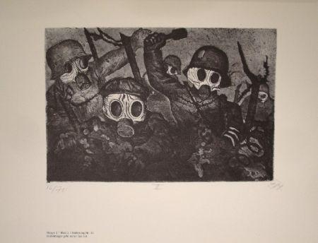 Illustriertes Buch Dix - Der Krieg