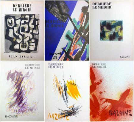 Illustriertes Buch Bazaine - DERRIÈRE LE MIROIR. BAZAINE. Collection complète des 6 volumes de la revue DERRIÈRE LE MIROIR consacrés à Jean Bazaine (parus de 1949 à 1975).