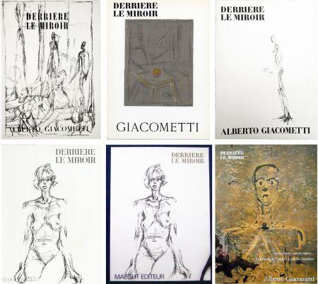 Illustriertes Buch Giacometti - DERRIÈRE LE MIROIR. COLLECTION COMPLÈTE DES NUMÉROS CONSACRÉS À A. GIACOMETTI (1951-1979)