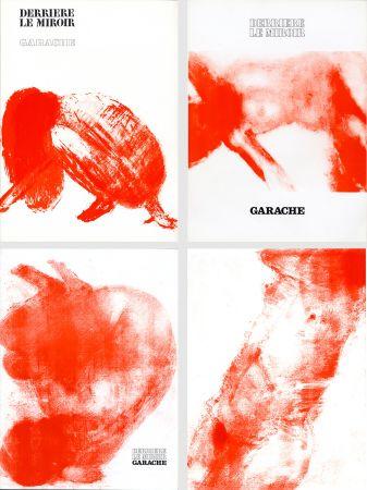 Illustriertes Buch Garache - DERRIÈRE LE MIROIR. GARACHE. Réunion des 3 numéros de la revue consacrés à Claude Garache (de 1975 à 1980).
