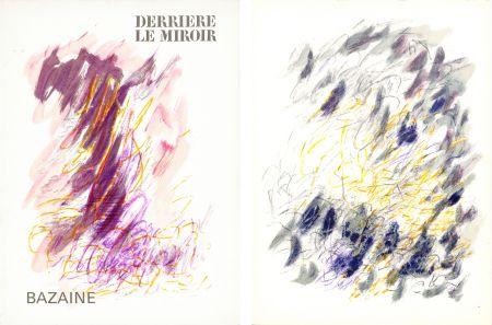 Illustriertes Buch Bazaine - DERRIÈRE LE MIROIR N°170. Mars 1968. 6 LITHOGRAPHIES ORIGINALES EN COULEURS.