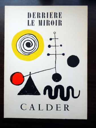 Illustriertes Buch Calder - DERRIÈRE LE MIROIR N°31