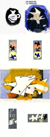 Illustriertes Buch Braque - DERRIÈRE LE MIROIR N° 115. BRAQUE. Juin-Juillet 1959.