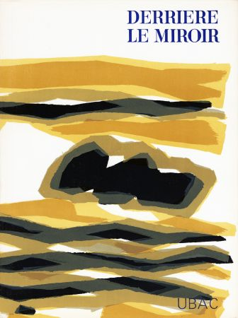 Illustriertes Buch Ubac - DERRIÈRE LE MIROIR n° 142 . GOUACHES ET ARDOISES TAILLÉES. Mars 1964. DE LUXE SIGNÉ