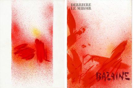 Illustriertes Buch Bazaine - DERRIÈRE LE MIROIR N° 215. BAZAINE. Octobre 1975 (7 lithographies originales).
