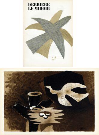 Illustriertes Buch Braque - DERRIÈRE LE MIROIR N° 85-86. BRAQUE. Avril-mai 1956.