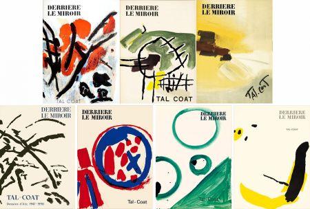 Illustriertes Buch Tal Coat - DERRIÈRE LE MIROIR. TAL-COAT. Collection complète des 7 volumes de la revue consacrés à PIERRE TAL-COAT (de 1954 à 1972).